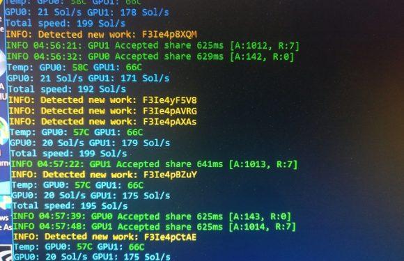 One of my GPU's hashrate is way too low